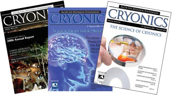 Three Decades of Cryonics History